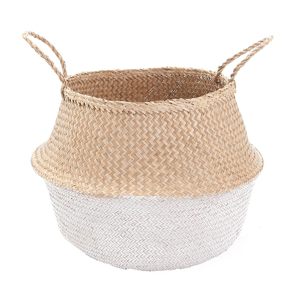 Basket Belly White Dipped Large