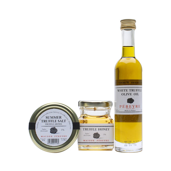 Gift Set Truffle Honey + Oil + Salt