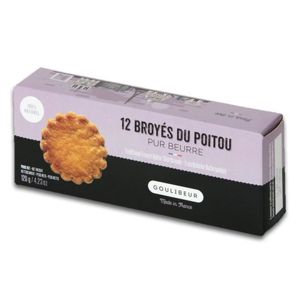 Cookies Shortbread Pure Butter Goulibeur