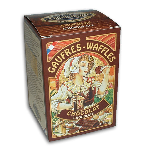 Pure Butter Waffles - Chocolate