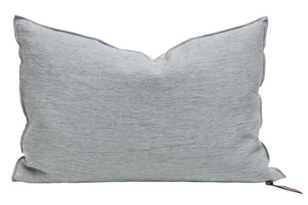 Cushion - Crumpled Linen in Nuage/Givré