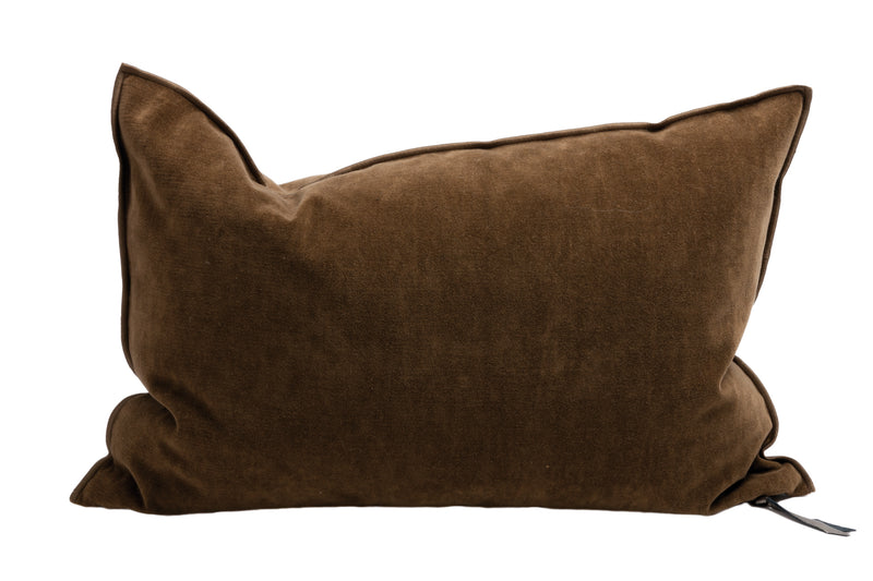 Cushion  - Vintage Velvet in Havane