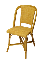 Woven Rattan Fouquet Bistro Chair Natural
