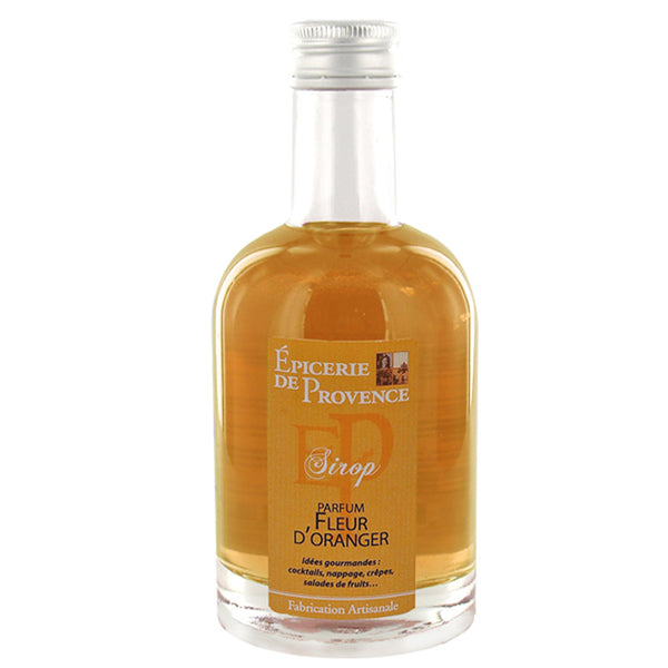 Orange Blossom Flowers Syrup 8oz