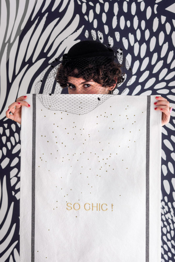 Tea Towel So Chic