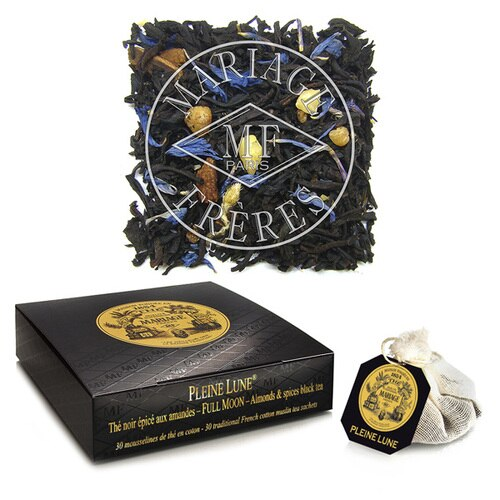 Tea - Pleine Lune by Mariage Freres Tea Sachets and Tea Box