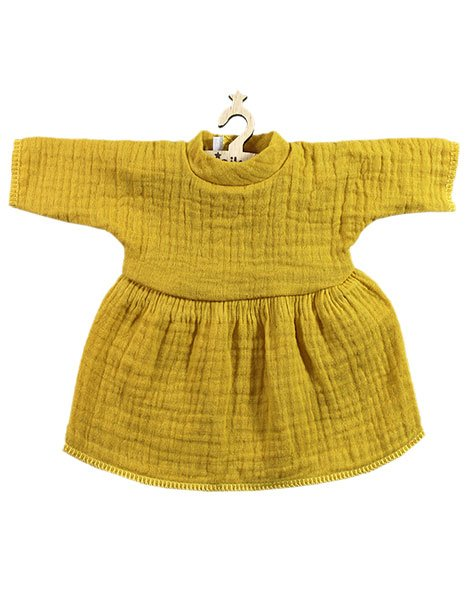 Doll Dress - Faustine Mustard