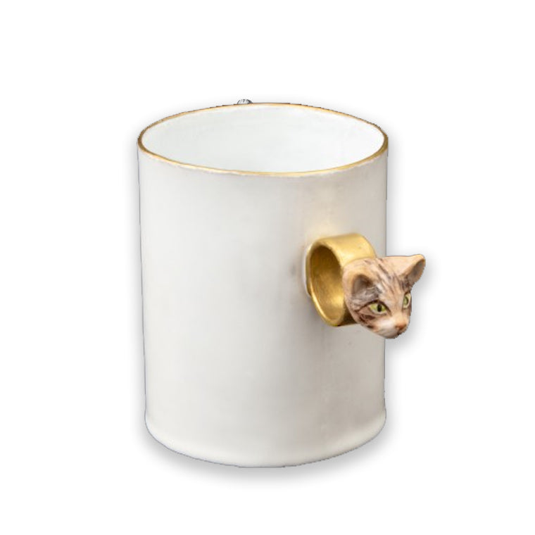 Cup Ring Serena Tabby Cat Cup