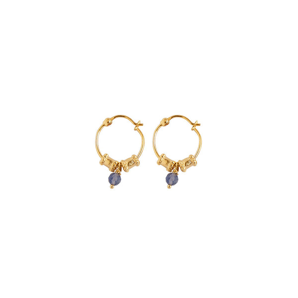 Earrings - Small Esmeralda