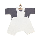 Doll Overalls - Jules Grey