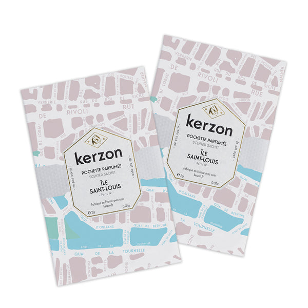 Scented Sachet Duo - Île Saint-Louis
