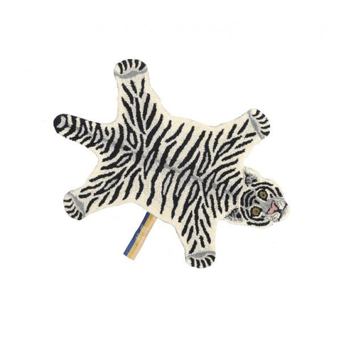 Rug Snowy Tiger Small