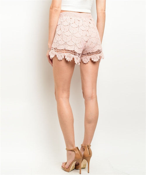 001 - Sweet Spring Lace Shorts
