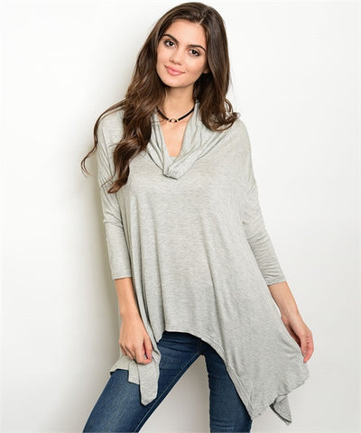002 - Jersey tunic top
