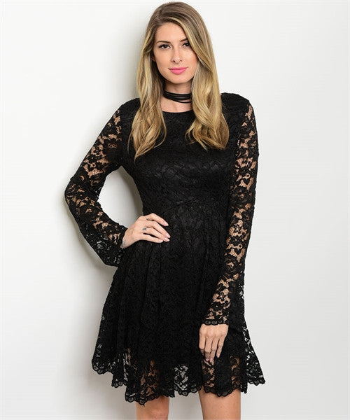 09 - Black Lace Dress