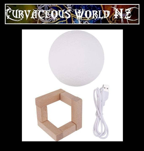 Romantic colour changing touch Moon-Lamp