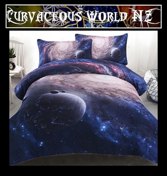 Amazing Galaxy Duvet cover set