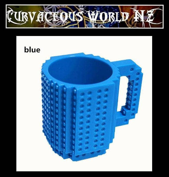 Fun Brick type Mug - FREE random pack of blocks