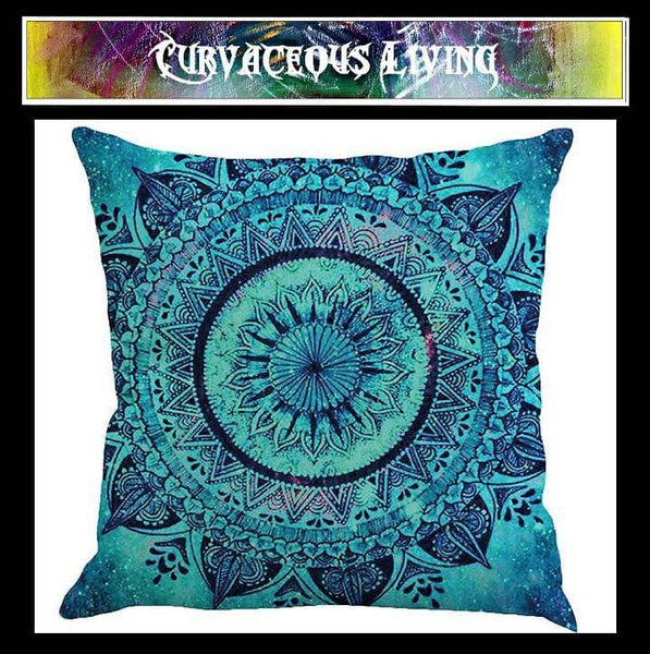 Trendy Mandala cushion covers