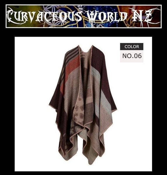 Women's soft warm selection of Chic Winter capes / shawls