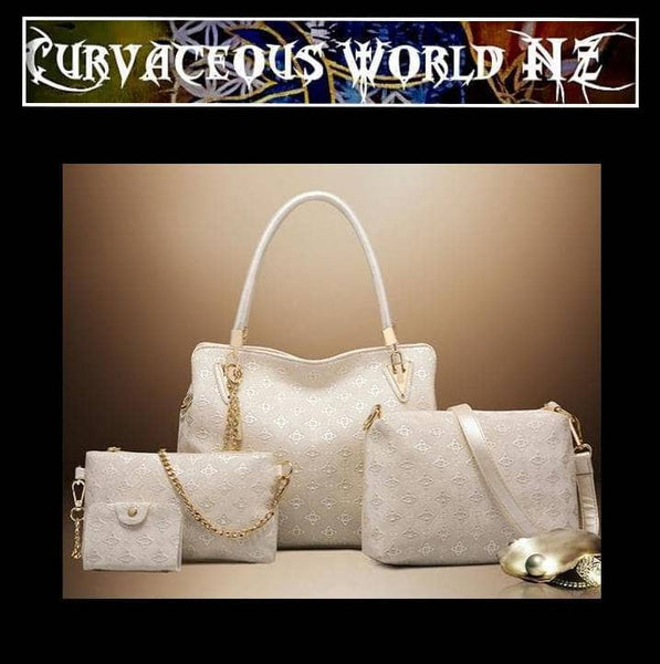 Exquisitely Crafted 4pce Handbag Set