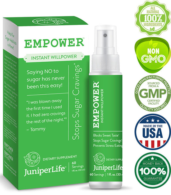 EMPOWER™ - Stops Sugar Cravings - Weight Loss & Appetite Suppressant