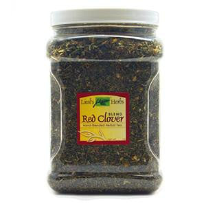 8 oz Container - Red Clover Blend Herbal Tea