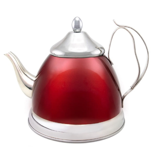 Tea Infuser Kettle 2 Qt-Cranberry