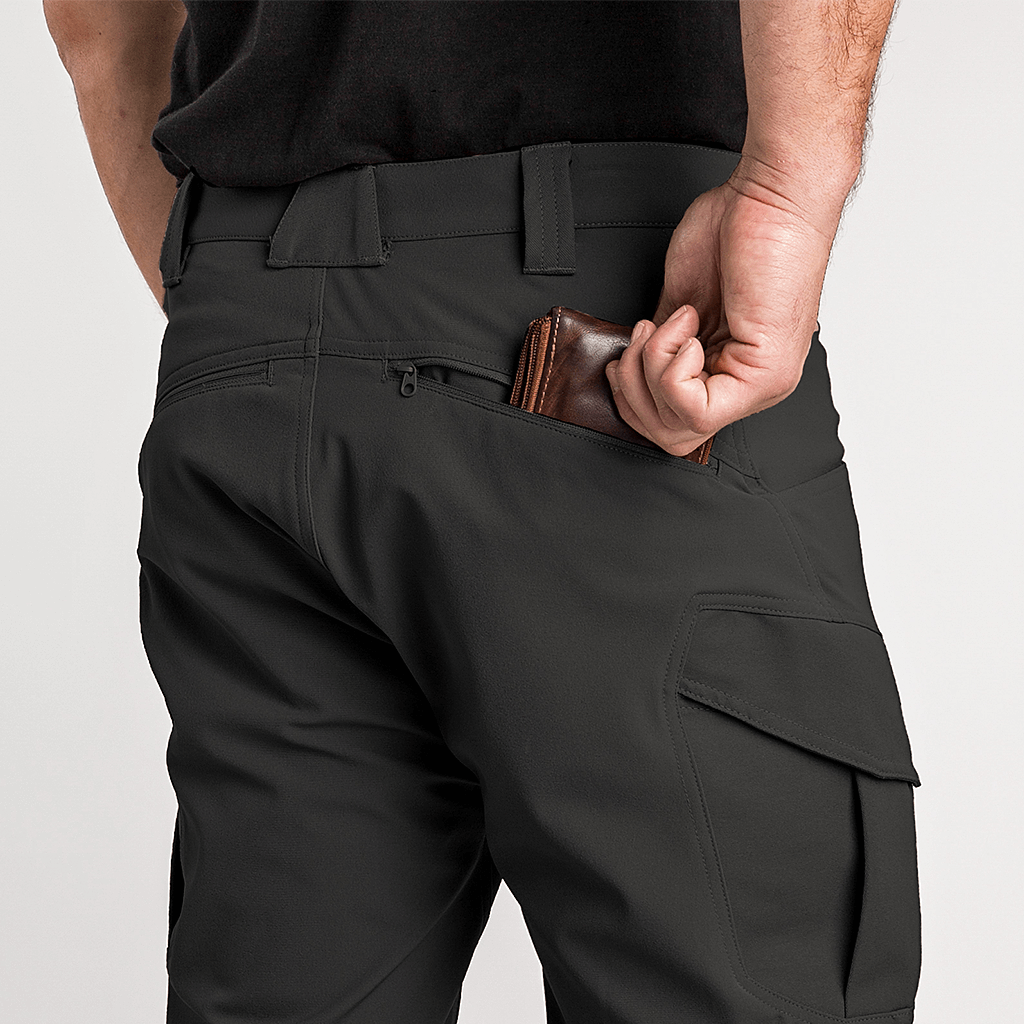 Zippered Back Pockets | 1620 Workwear, Inc. | Made in the USA