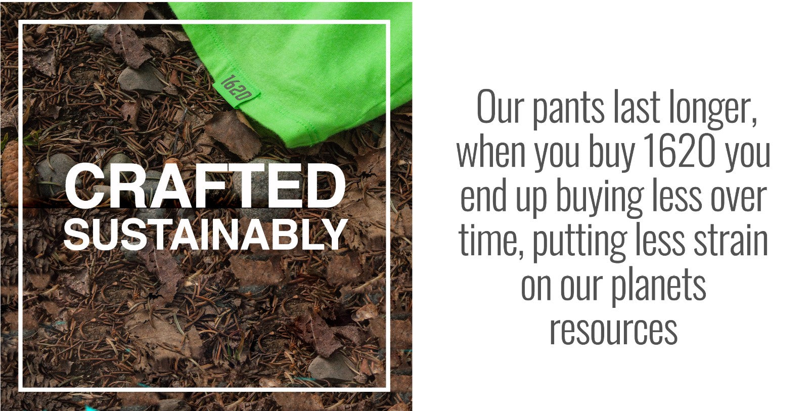 1620 Sustainable Work Wear, Shirts and Pants