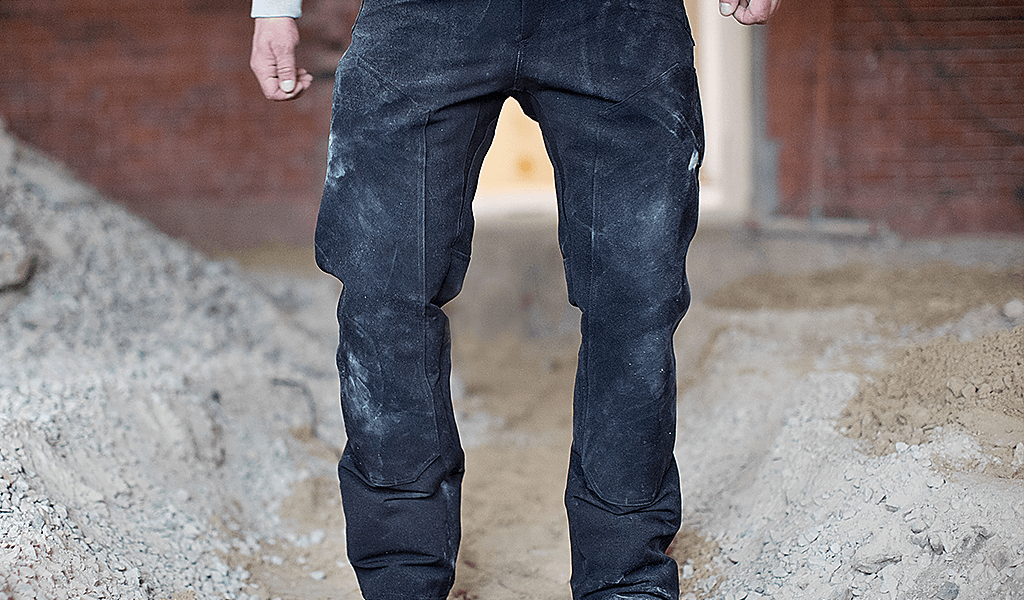 Double Layer Knee and Upper Thigh | 1620 Workwear | Made in the USA