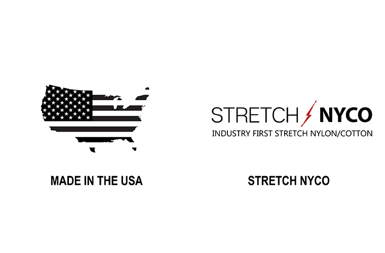 Stretch NYCO | 1620 Workwear, Inc. | Made in the USA