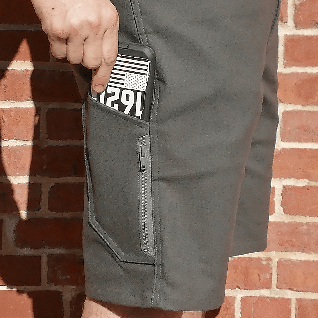 Side Utility and Zippered Pockets | 1620 Workwear, Inc. | Made in the USA