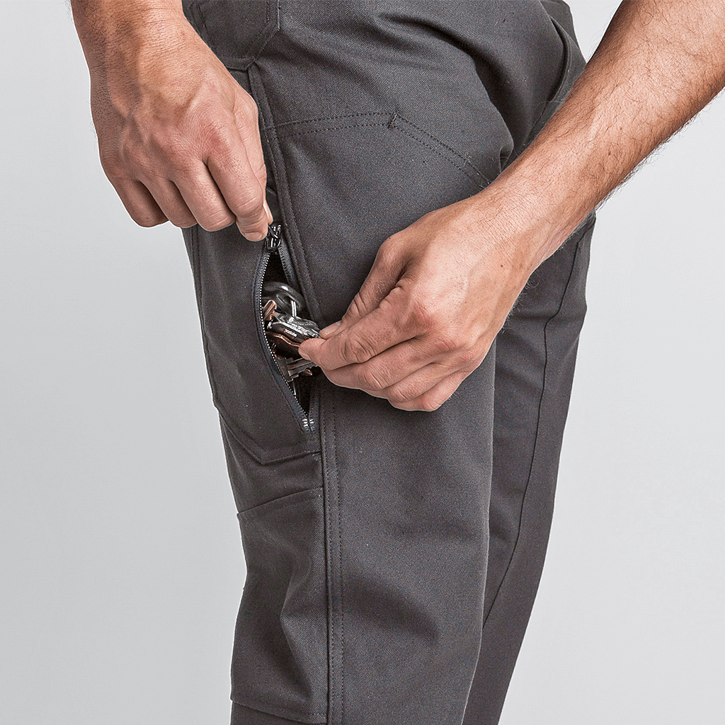 Side Zip Pocket | 1620 Workwear, Inc. | Made in the USA