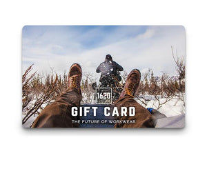 Gift Card - 1620 workwear Premium American Made Workwear