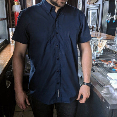 Short Sleeve Work Shirt - PRESALE Ships August 2019 - 1620 workwear Premium American Made Workwear