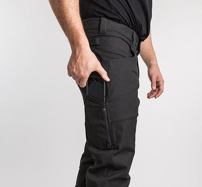 Stretch NYCO Single Knee Pant Meteorite - 1620 workwear Premium American Made Workwear