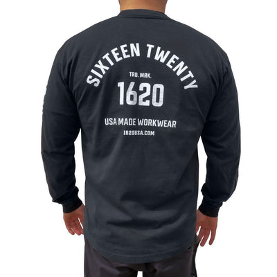 1620 Print Long Sleeve Tee