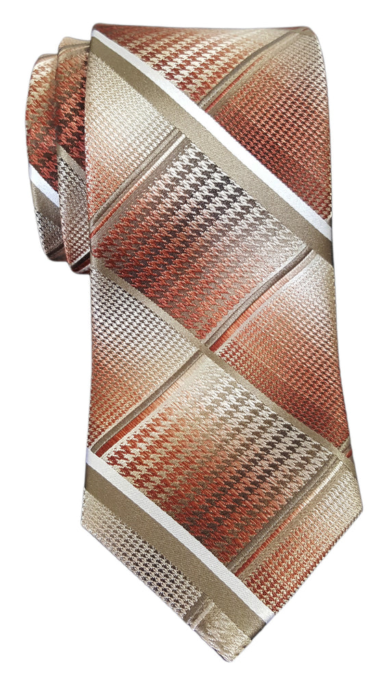 Van Heusen Patterned Tie Orange