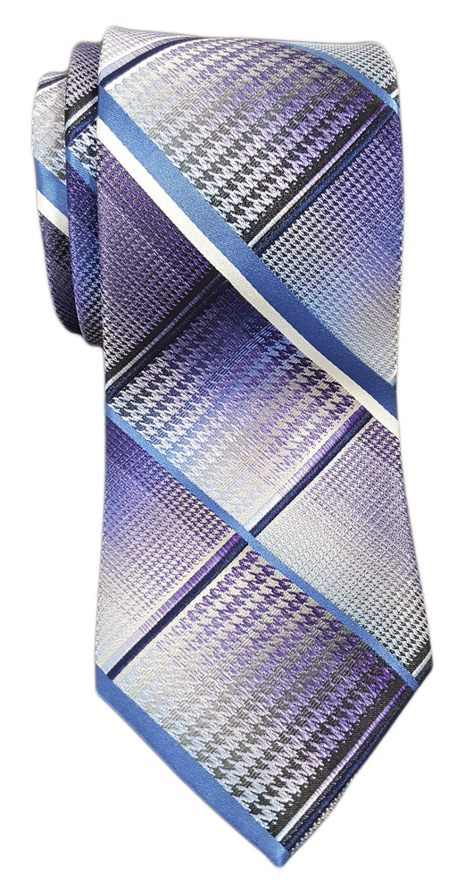 Van Heusen Patterned Tie Purple