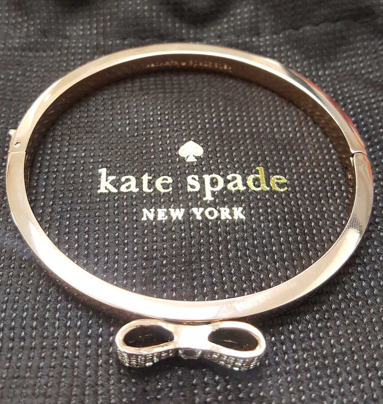 Kate Spade Pave Bow Bangle
