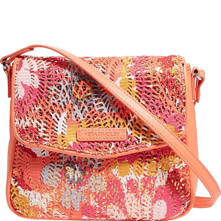 Vera Bradley Summer Sparkle Crossbody (Pixie Blooms)