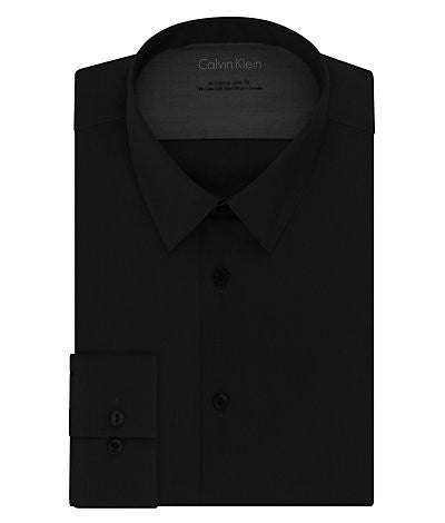Calvin Klein Extreme Slim Fit Solid Dress Shirt