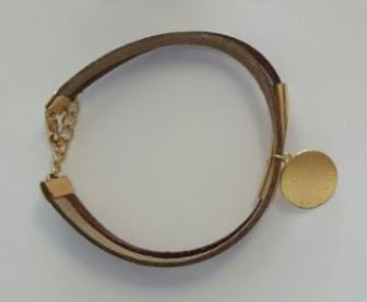 Koa Shine Bracelets Golden Coin