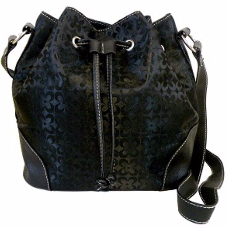 Fashion Drawstring Bag Black