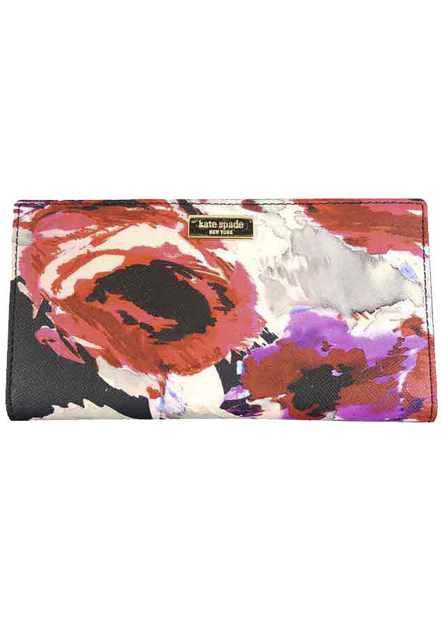 Kate Spade Laurel Way Stacy Printed Wallet