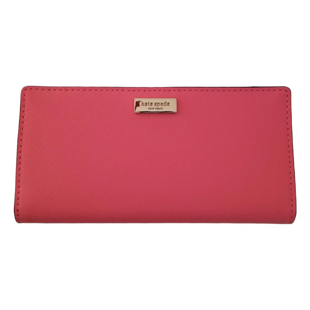 Kate Spade New York Laurel Way Stacy Wallet Warm Guava