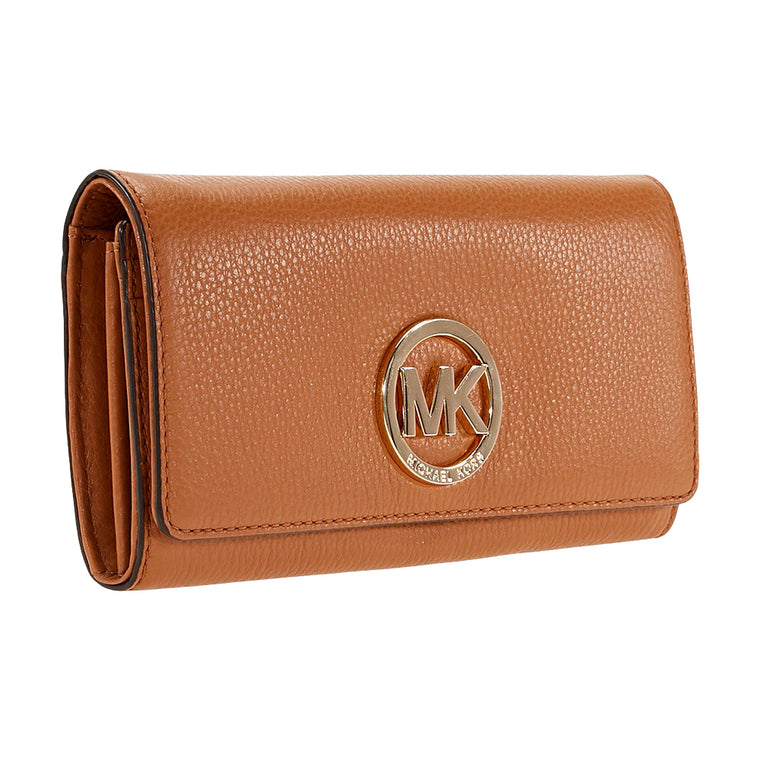 Michael Kors Fulton Carryall Wallet - Brown