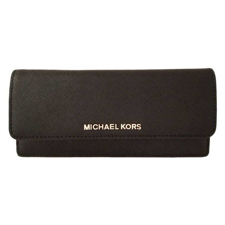 Michael Kors Jet Set Travel Slim Wallet Black