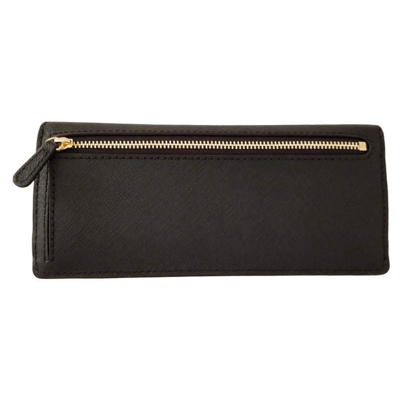 Michael Kors Jet Set Travel Slim Wallet Black 35S8GTVE0L